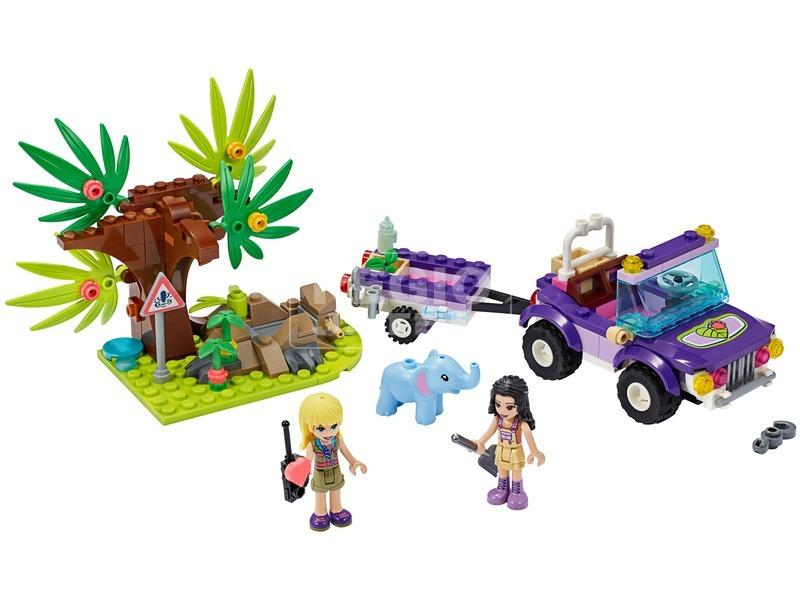 kép nagyítása LEGO® Friends Kiselefánt mentő akció 41421