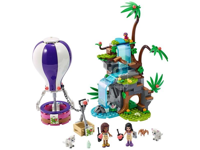 kép nagyítása LEGO® Friends Hőlégballonos tigris mentő akció 41423