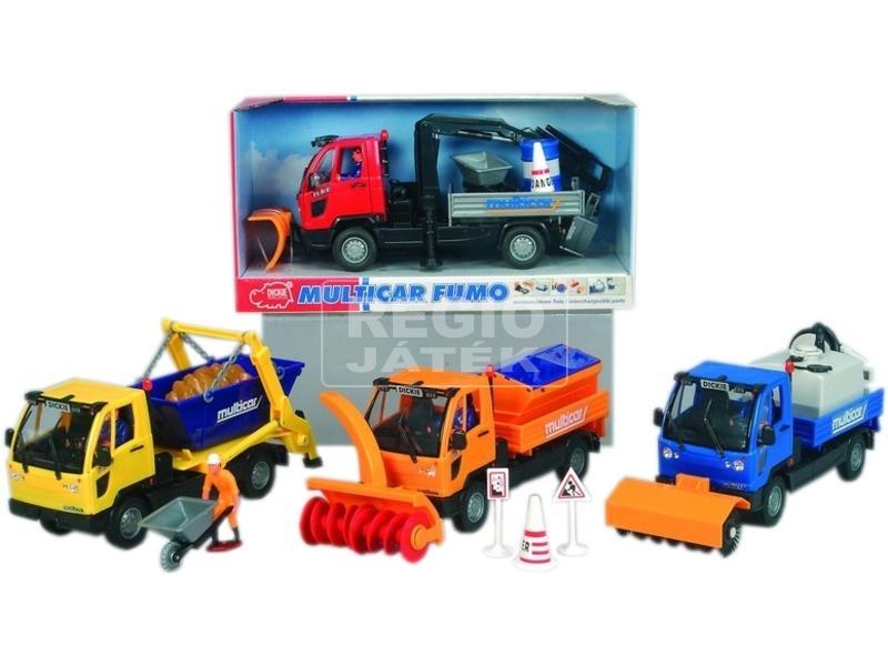 Multicar utcai teherautó - többféle