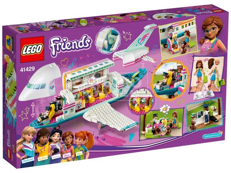 kép nagyítása LEGO® Friends Heartlake City Repülőgép 41429