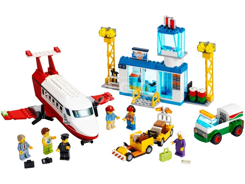 kép nagyítása LEGO® City Airport Központi Repülőtér 60261