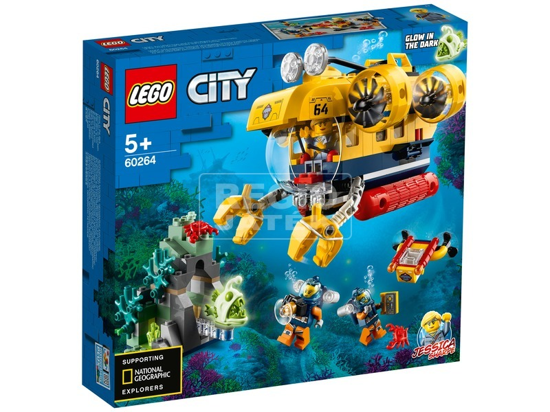 LEGO® City Oceans Óceáni kutató tengeralattjáró 60264