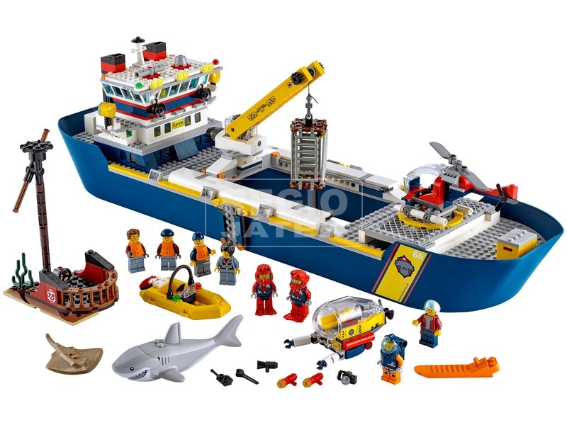 kép nagyítása LEGO® City Oceans Óceánkutató hajó 60266