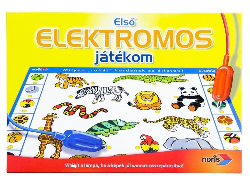 kép nagyítása Első elektromos játékom oktatójáték