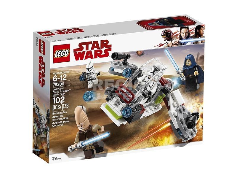 LEGO Star Wars TM 75206 Jedi™ és Klónkatona™ harci csomag