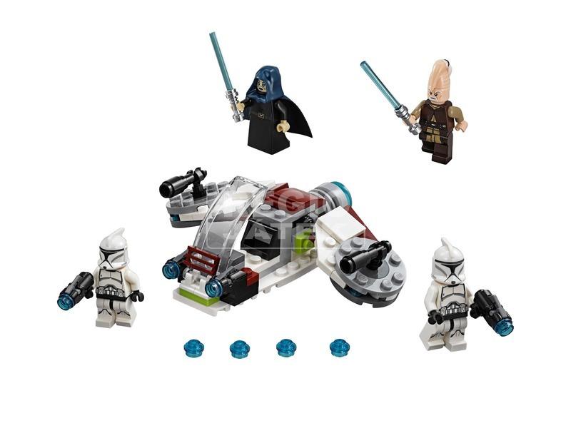 kép nagyítása LEGO Star Wars TM 75206 Jedi™ és Klónkatona™ harci csomag