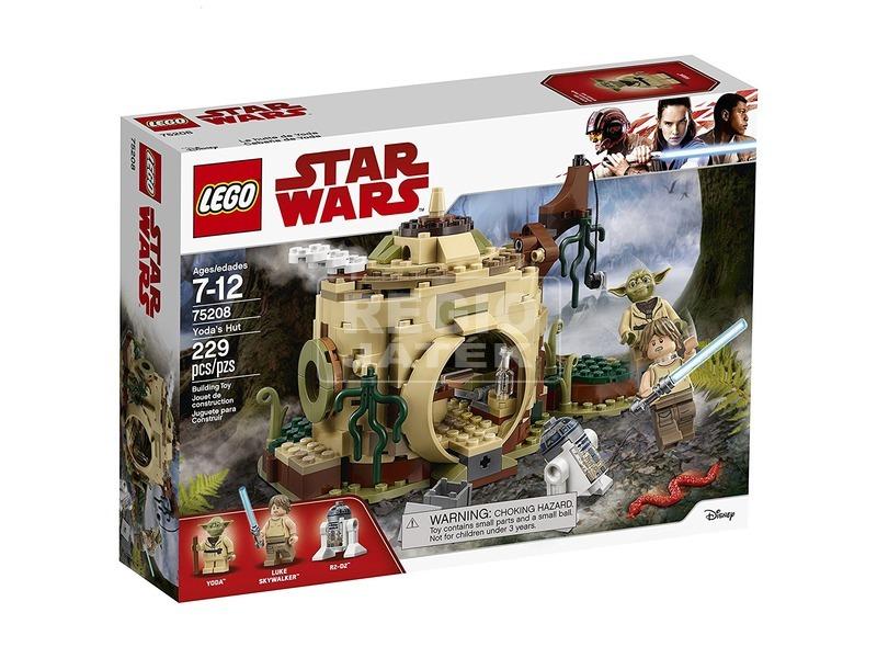 LEGO Star Wars TM 75208 Yoda kunyhója