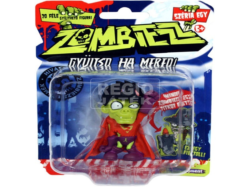 Zombiezz zombifigura 1 darabos csomag - többféle