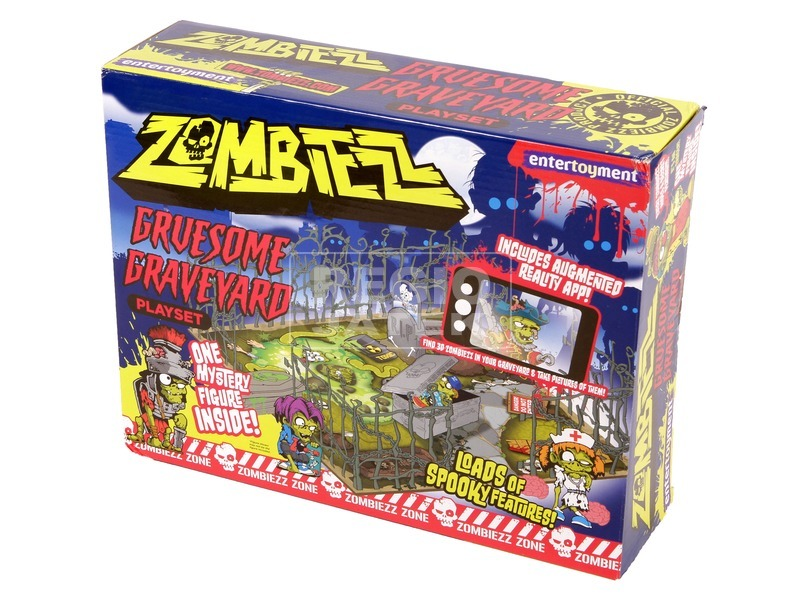 Zombiezz temető játékkészlet