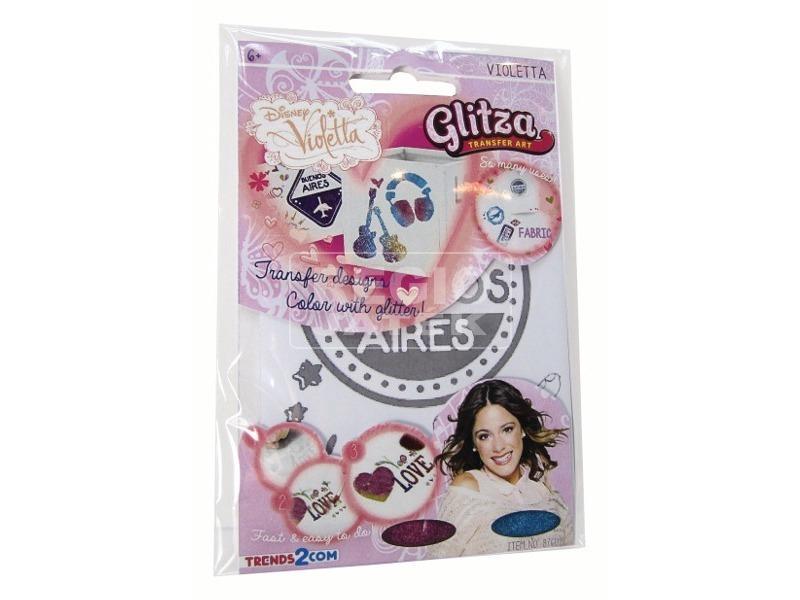 Glitza Violetta kicsi csillámtetkó készlet