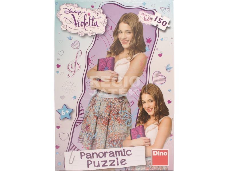 Violetta 150 darabos panoráma puzzle
