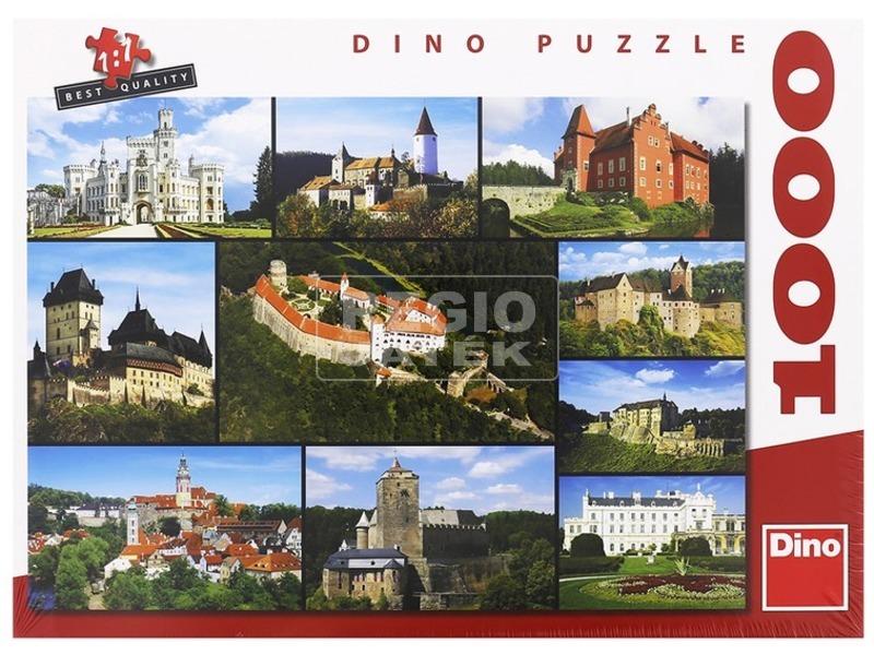 Puzzle 1000 db - Kastélyok