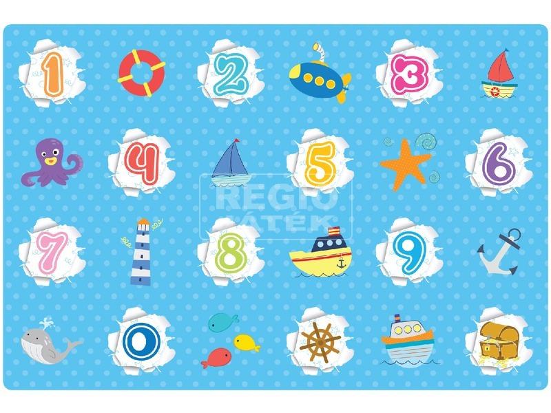 Óceán és számok játszószőnyeg