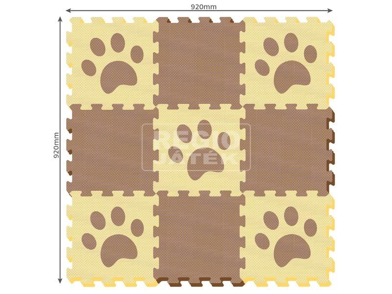 kép nagyítása Tappancs 9 darabos habszivacs szőnyeg puzzle