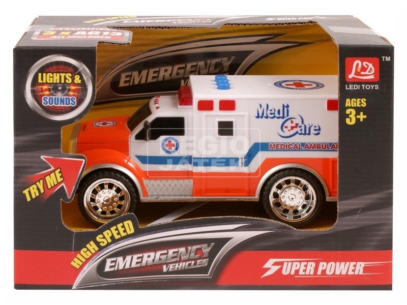 Elemes mentőautó - 18 cm