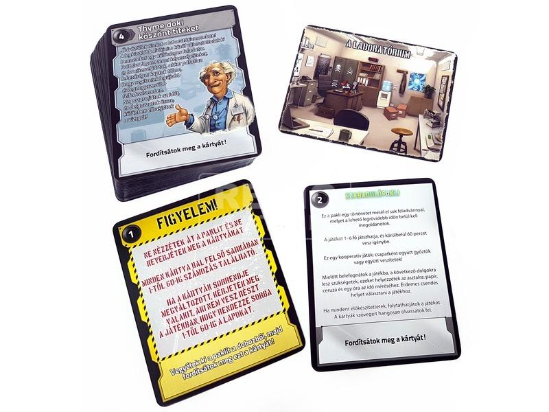 kép nagyítása Szabadulópakli - Időpróba kártyajáték