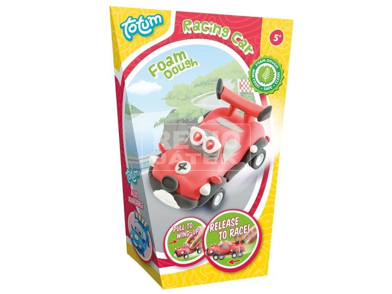 Autó pillegyurma készlet - piros