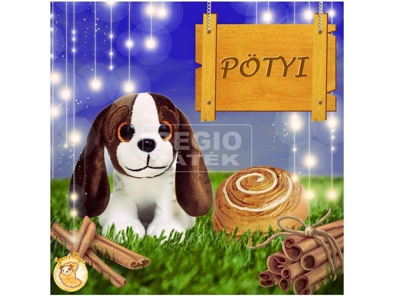 kép nagyítása Süti kutyus kifordítható plüssfigura - 10 cm, többféle