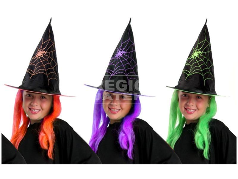 Boszorkány kalap hajjal - többféle