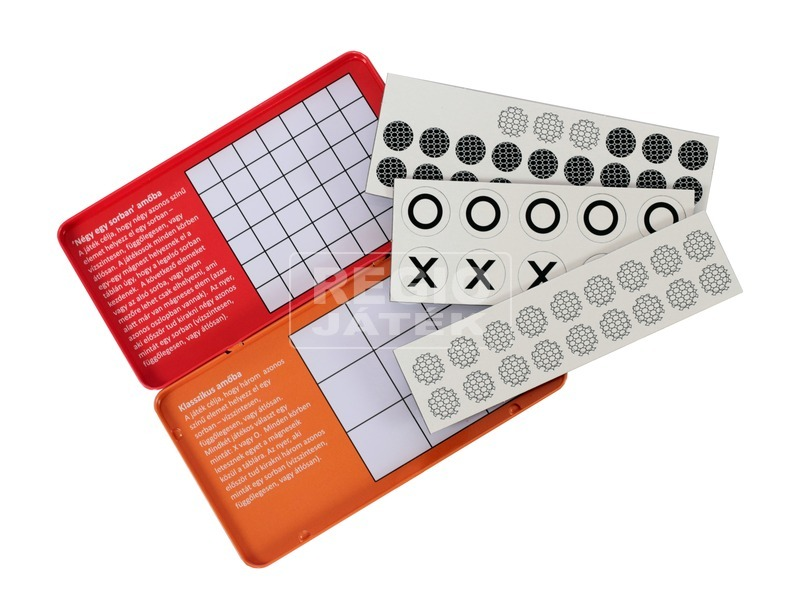 kép nagyítása Mágneses amőba - négy egy sorban társasjáték