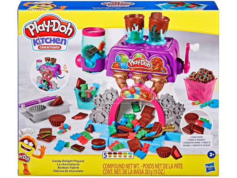 Play Doh csokigyár gyurma készlet