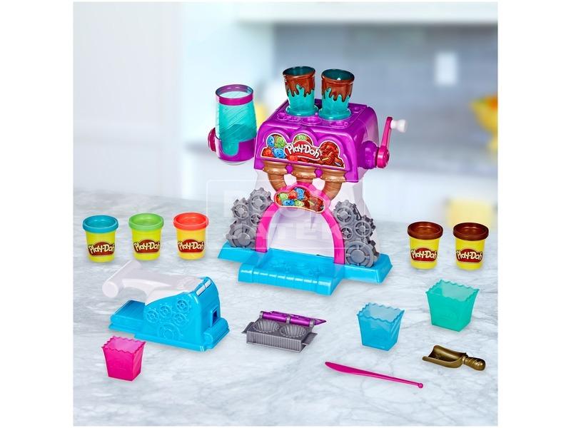 kép nagyítása Play Doh csokigyár gyurma készlet