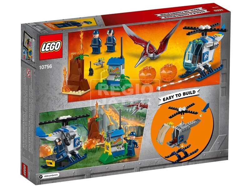 kép nagyítása LEGO® Juniors Pteranodon szökés 10756