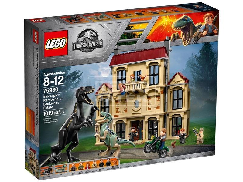 LEGO® Jurassic World Indoraptor a birtokon 75930