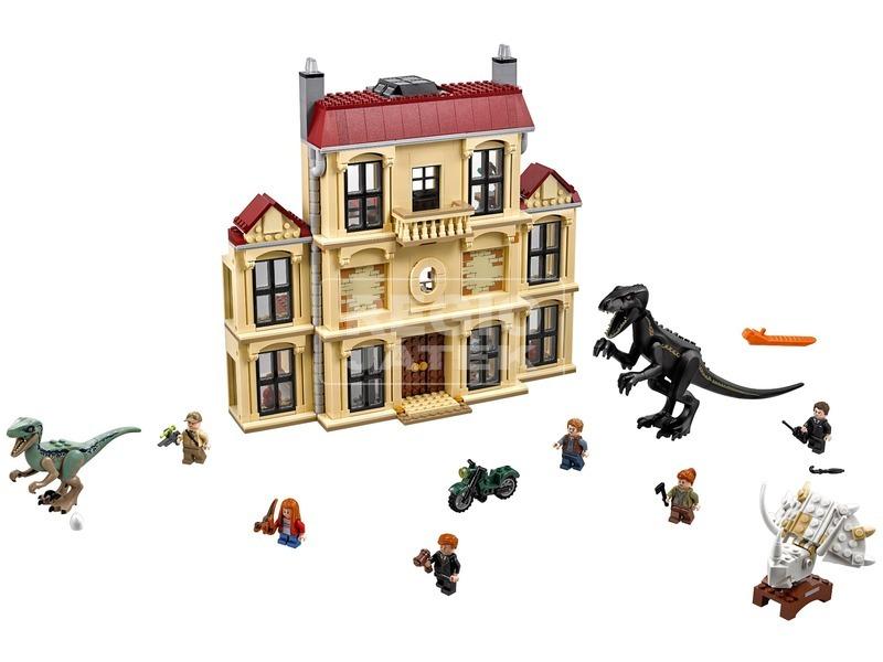 kép nagyítása LEGO® Jurassic World Indoraptor a birtokon 75930