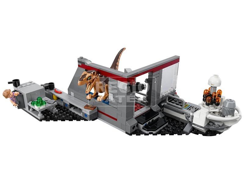 kép nagyítása LEGO® Jurassic World Velociraptor üldözés 75932