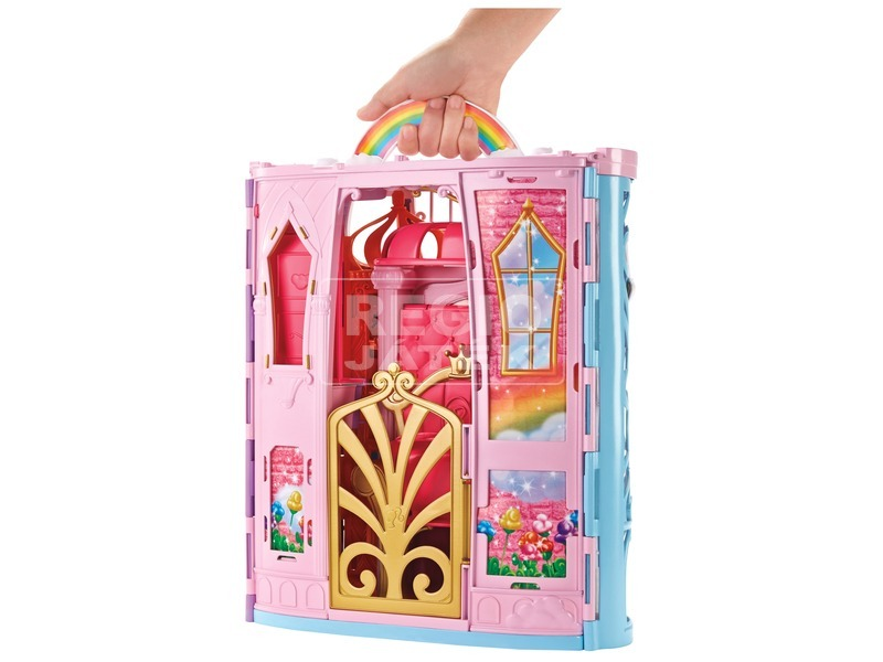 kép nagyítása Barbie Dreamtopia kastély babával készlet