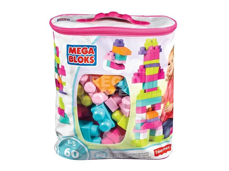 Mega Bloks 60 darabos maxi építőkocka táskában