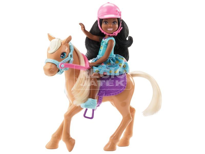 kép nagyítása Barbie Chelsea baba pónival - 12 cm