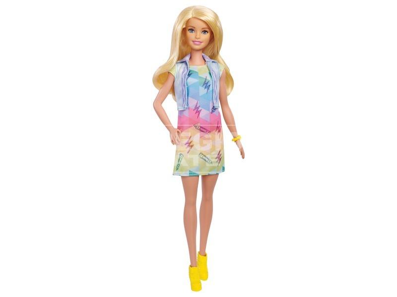 kép nagyítása Barbie Crayola ruhafestő készlet babával - 29 cm