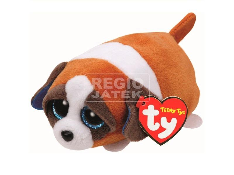 Gypsy kutya plüssfigura - barna-fehér, 10 cm