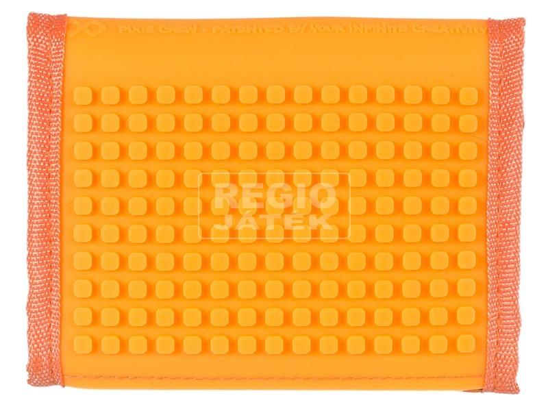 kép nagyítása Pixie neszesszer - narancssárga, puzzle mintás