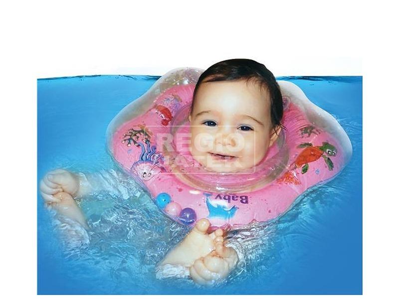 kép nagyítása Baby Ring úszógumi - kék, 3-36 hónap