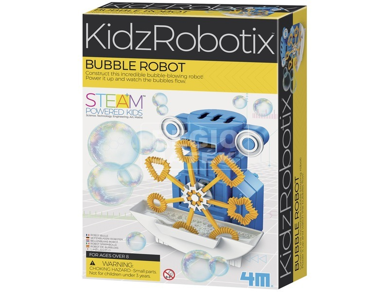 Buborékfujó robot 03423