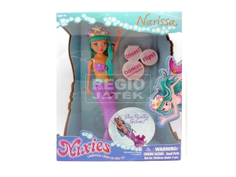 Nixies víz alatt táncoló hercegnő - többféle