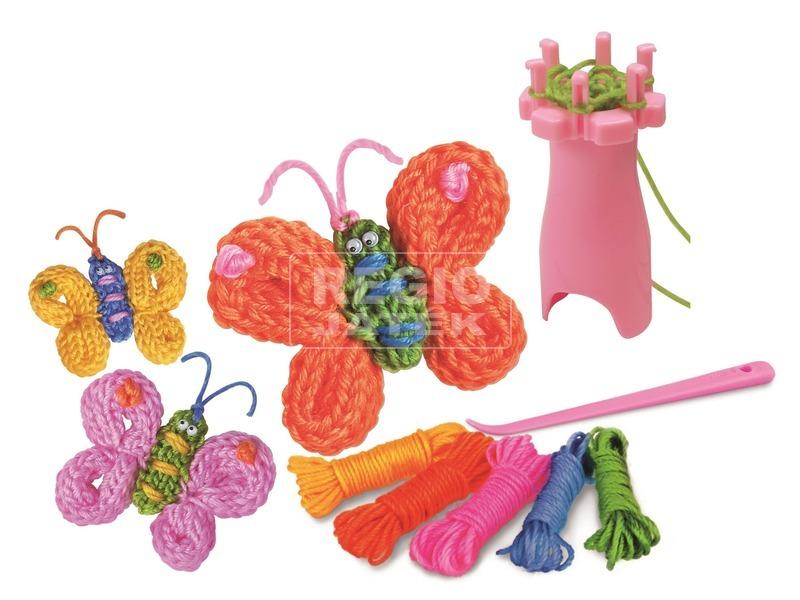 kép nagyítása 4M Kis mesterek - Kötött pillangó készítő