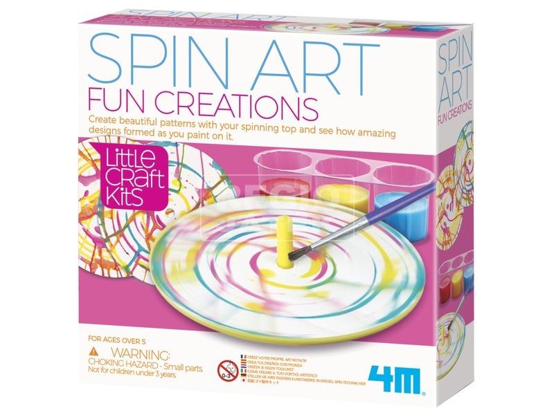 4M Kis mesterek - Forgós festős készlet