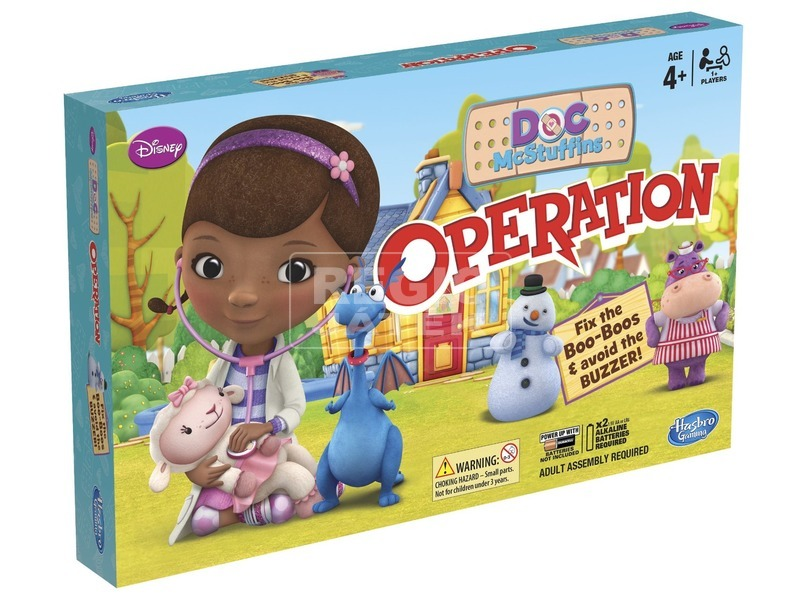Dr. Plüssi Operáció társasjáték
