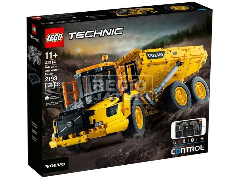 LEGO Technic 42114 6x6-os Volvo csuklós szállítójármű