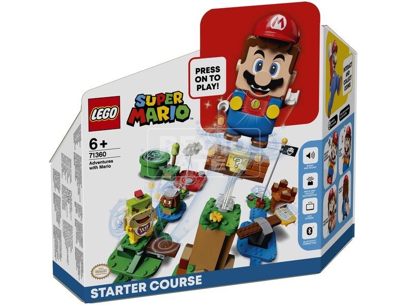 LEGO® Super Mario™ Mario kalandjai kezdőpálya 71360