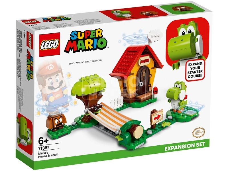 LEGO® Super Mario™ Mario háza & Yoshi kiegészítő szett 71367