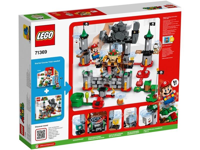 kép nagyítása LEGO® Super Mario™ Az utolsó csata Bowser kastélyában kiegészítő szett 71369