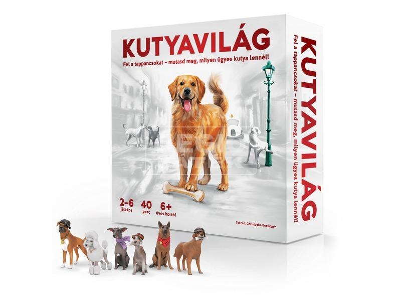 kép nagyítása Kutyavilág társasjáték