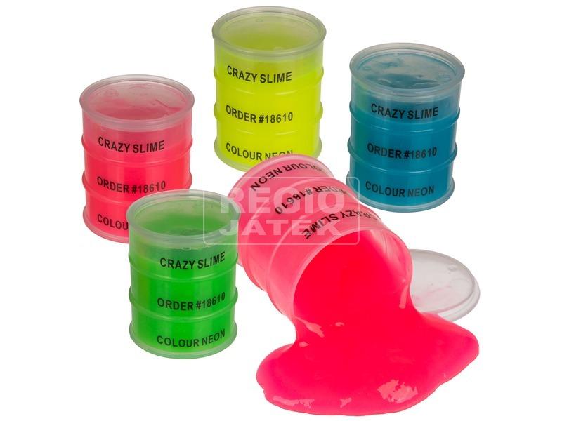 Slime olajos hordóban - színes, többféle