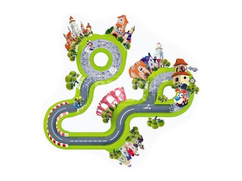 kép nagyítása Fa autópálya puzzle