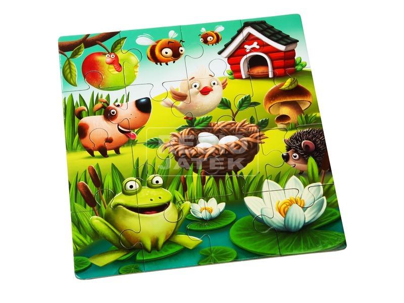 kép nagyítása Kedvenc állatok 3 az 1-ben XXL puzzle